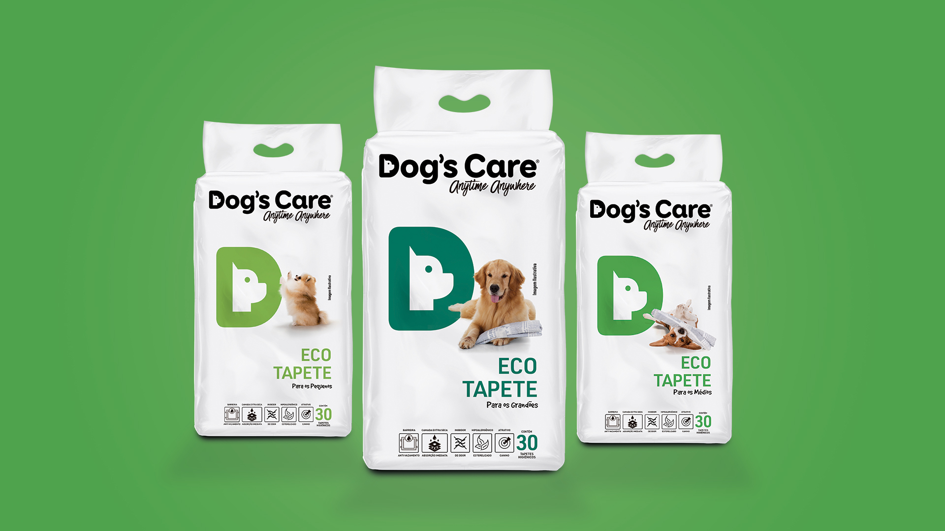 Dogs Care Packshot