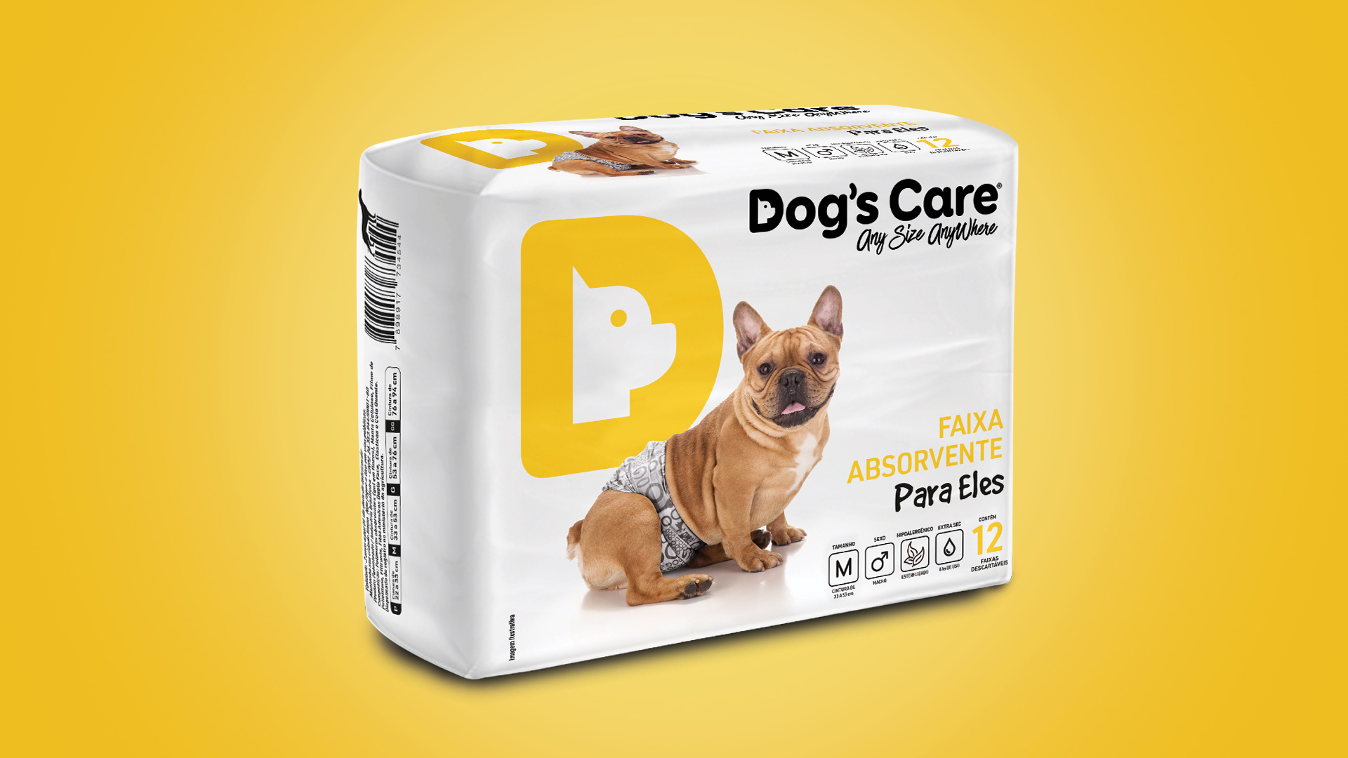 Dogs Care Fralda