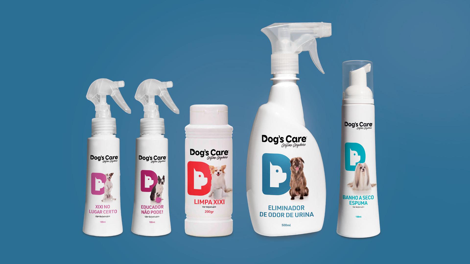 Dogs Care produtos banho