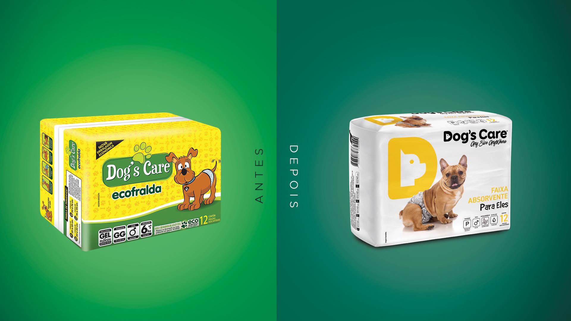 Dogs Care Antes e Depois