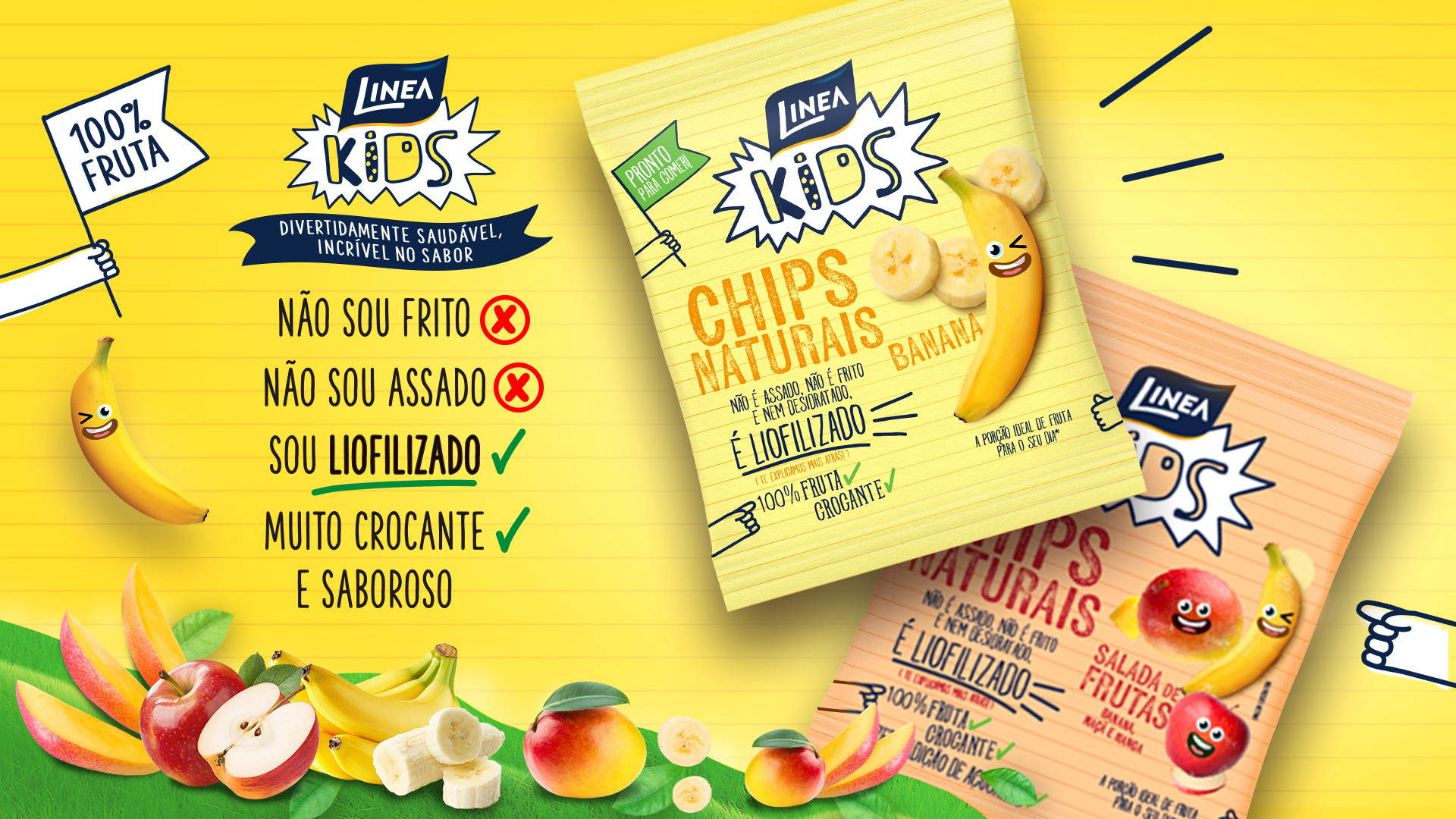 Linea Chips de Banana