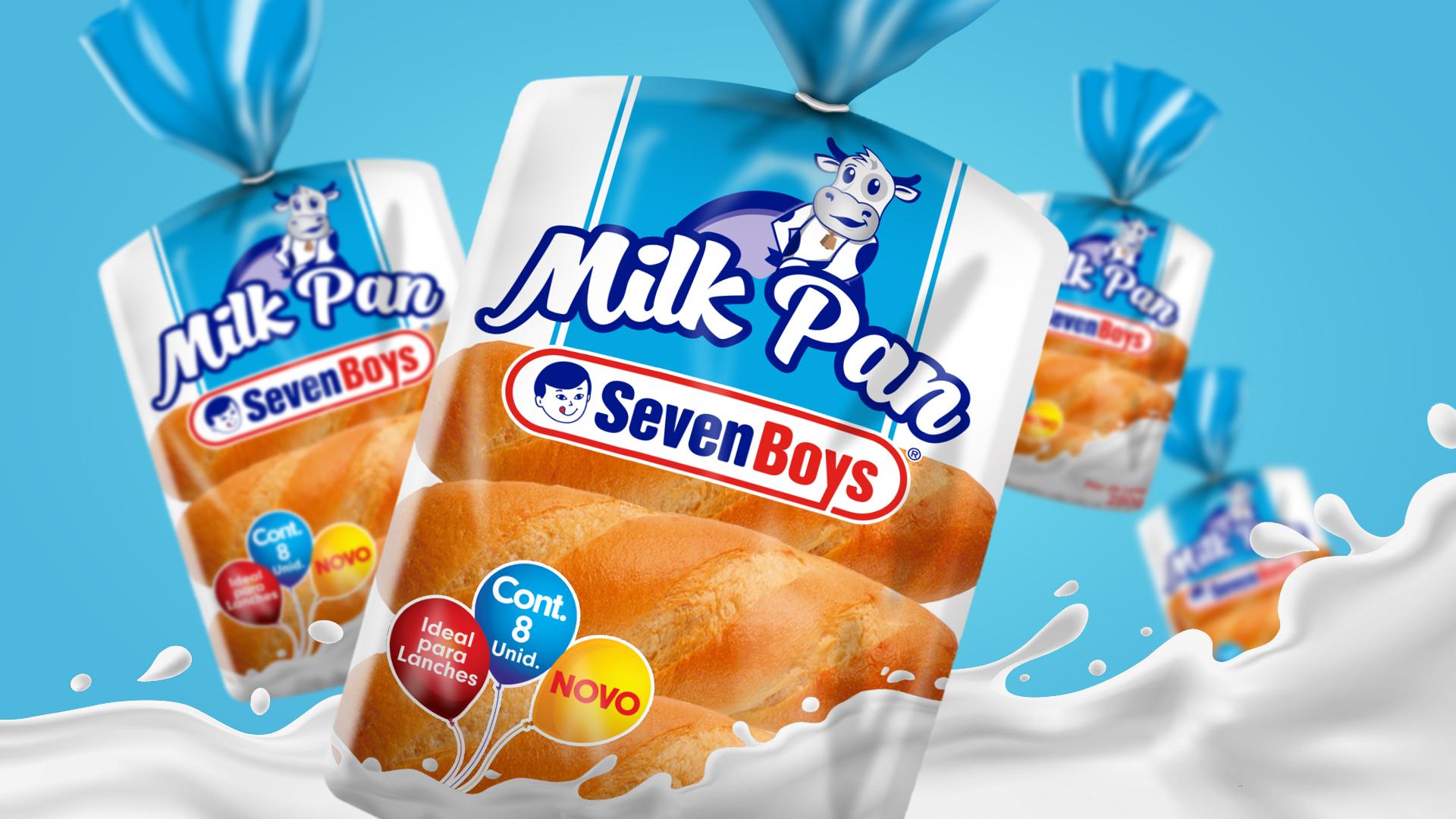 Milk Pan Embalagem