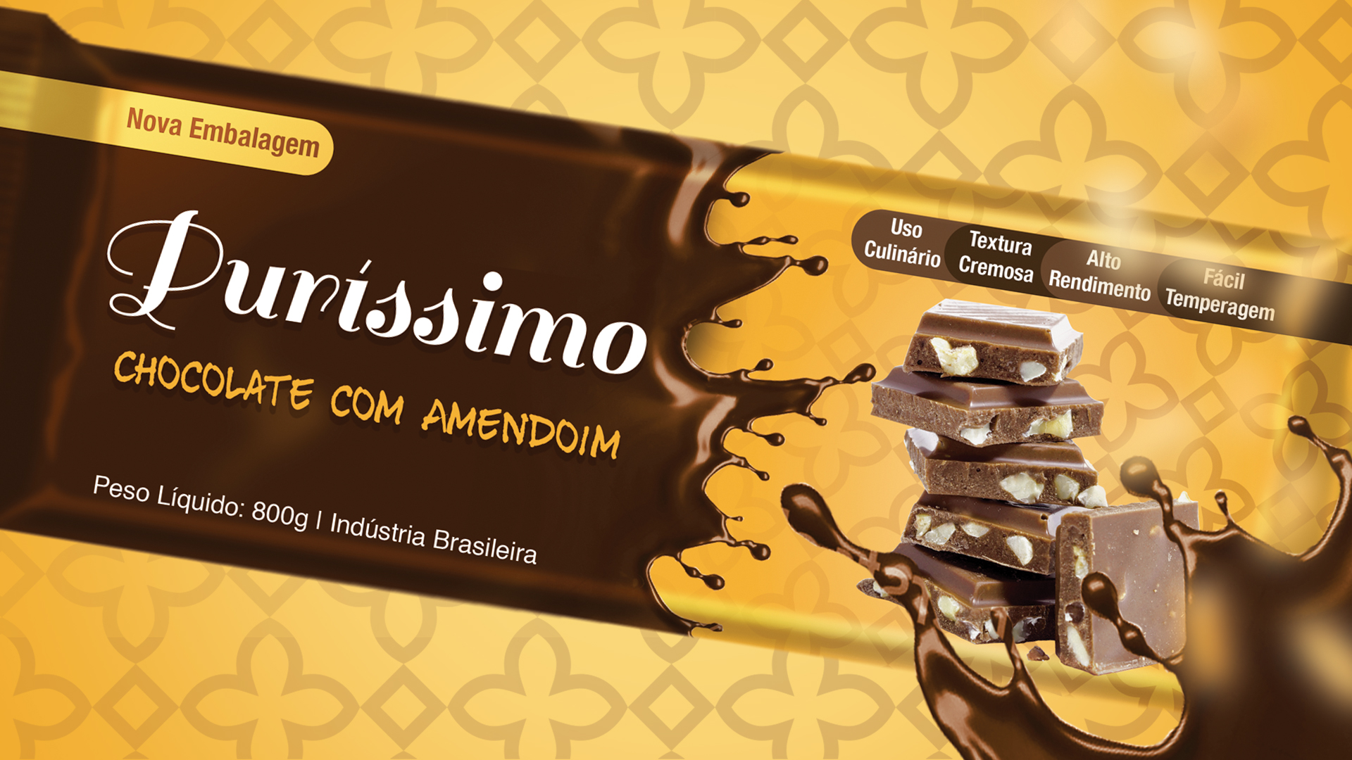 Purissimo Chocolate com Amendoim