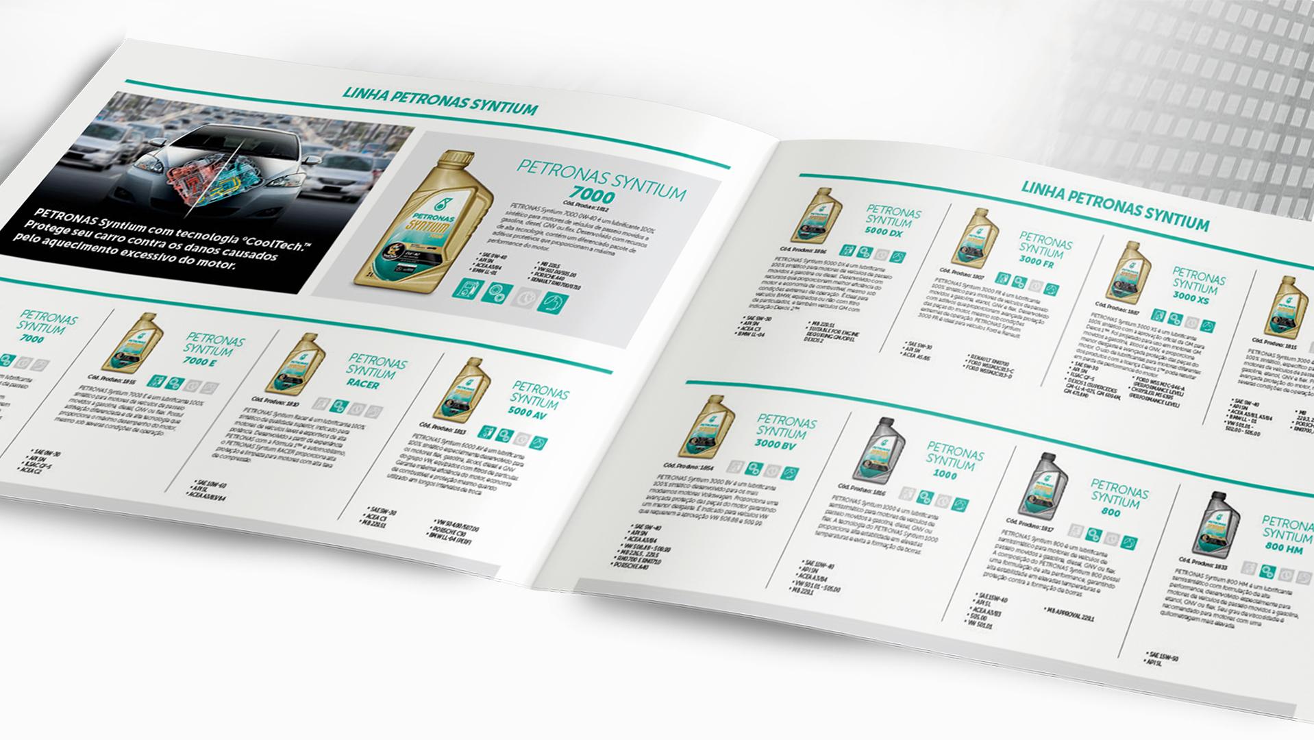 Petronas Catálogo Páginas Internas